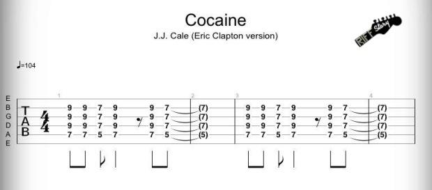 Cocaine - J.J. Cale, Eric Clapton version-1