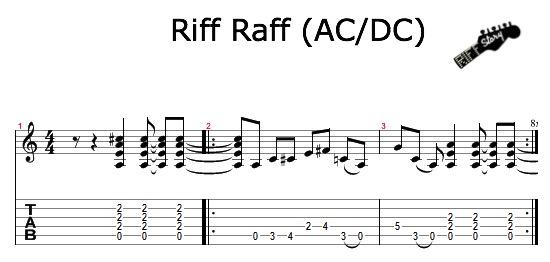 Riff Raff ACDC
