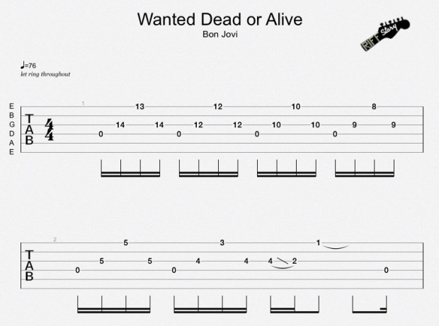 Wanted Dead Or Alive Bon Jovi