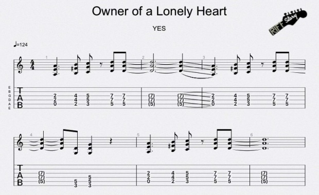 Owner of a Lonely Heart YES