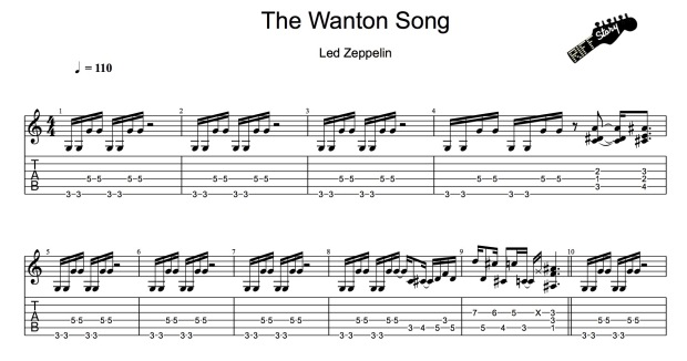Led Zeppelin - The Wanton Song-1