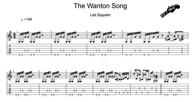 Led Zeppelin - The Wanton Song-1