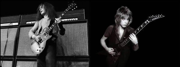 Paul Kossoff y Randy Rhoads copia