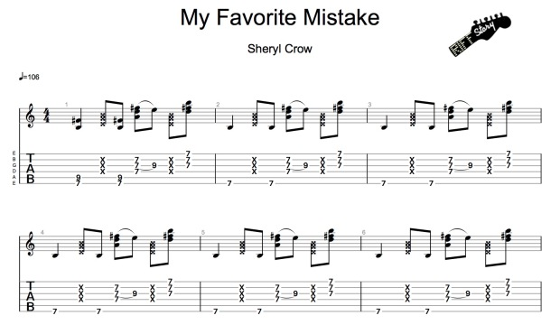 Crow, Sheryl - My favorite mistake-1