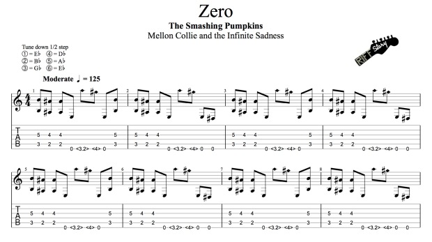 The Smashing Pumpkins - Zero (guitar pro)-1