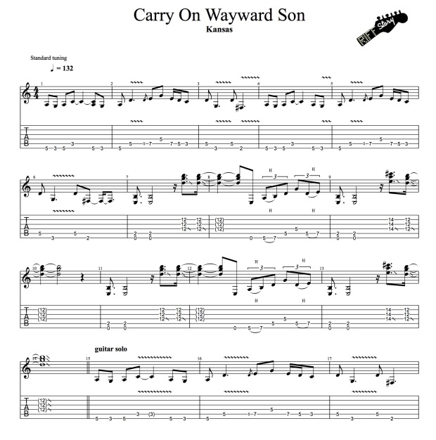 Kansas - Carry On Wayward Son-1