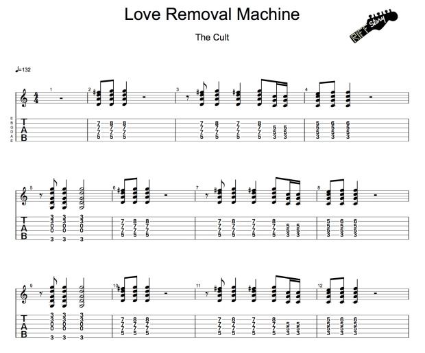 The Cult - Love Removal Machine (guitar pro)-1