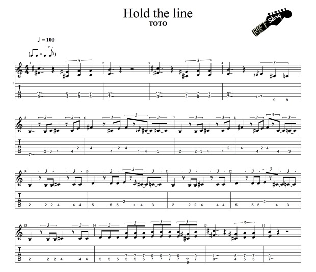 Toto - Hold the Line-1